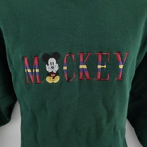 Disney Sweaters - Mickey Mouse crew neck sweater M H64